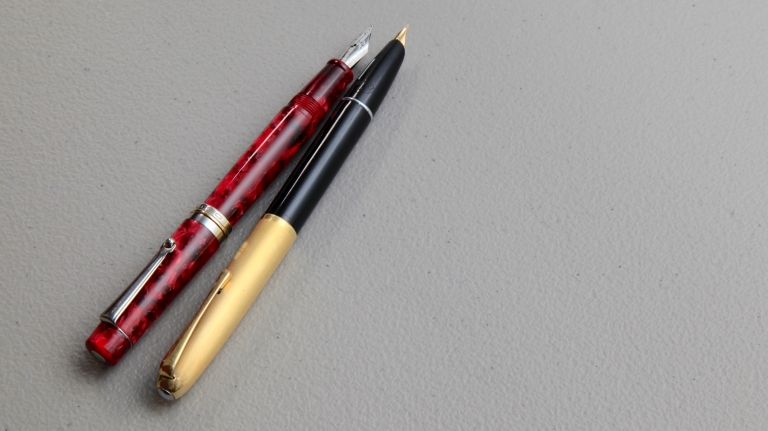 Fancy Italian pens.