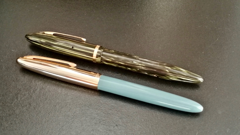 A Sheaffer Balance v.s. A Hero 329